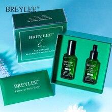 BREYLEE-mascarilla negra para el cuidado de la piel, eliminador de espinillas, tratamiento antiacné, exfoliación Facial, suero de refino, encoge los poros