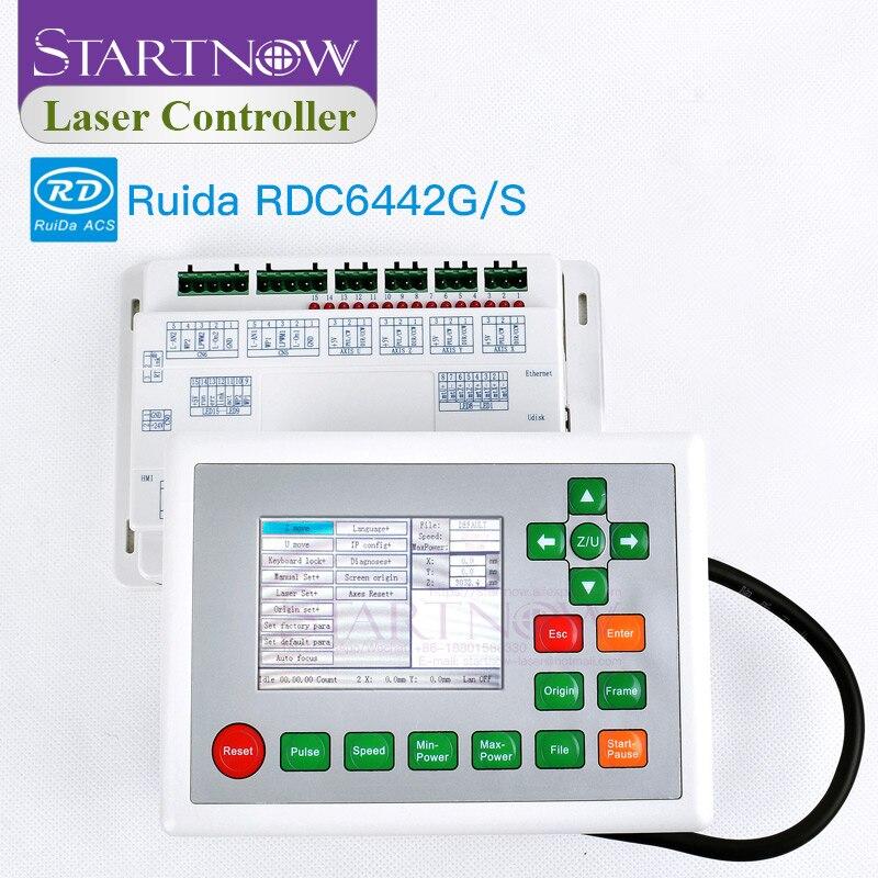 Ruida RDC6442G 6442S CO2 Laser Scheda di Controllo Della Macchina CNC Sistema di Scheda Principale di Controllo Laser Per Laser Pezzi di Ricambio RDC 6442 6442G