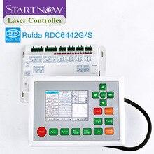 Ruida RDC6442G 6442S CO2 آلة الليزر بطاقة وحدة التحكم باستخدام الحاسب الآلي نظام التحكم بالليزر المجلس الرئيسي لقطع غيار الليزر RDC 6442 6442G