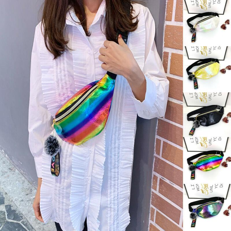 Fanny Women Girls Waist Pack Belt Outdoor Bag Pouch Hip Bum Bag Travel Sport Small Purse