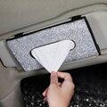 Bling Bling Diamant Auto Visier Tissue Halter Hängen Leder Kristalle Strass Papier Handtuch Abdeckung Fall für Frauen Auto Zubehör