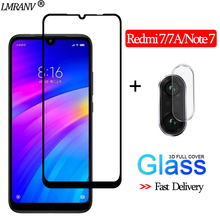 2-in-1 Camera Glass film Redmi 7 3D Protective Note Screen Protector redmi 7a Tempered