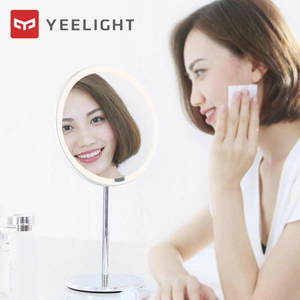Image 2 - Yeelight LEDs Makeup Mirror Light Touching Control Motion Sensor make up Eye Protection Night Light for Xiaomi Dresser Table-in Vanity Lights from Lights & Lighting