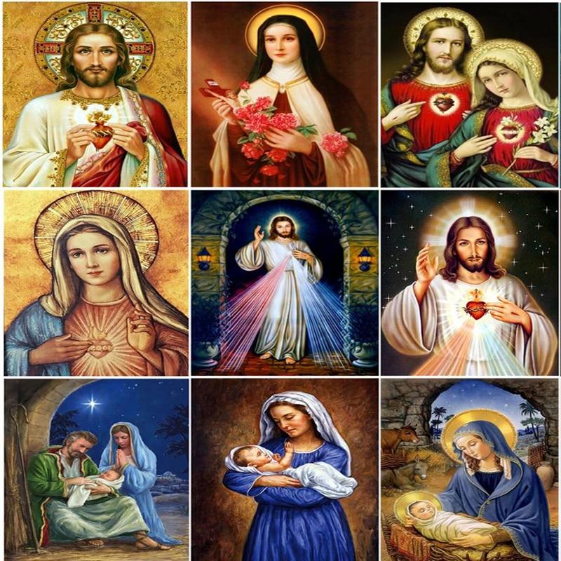 Купить новая религиозная алмазная вышивка «сделай сам» с иисусом полная