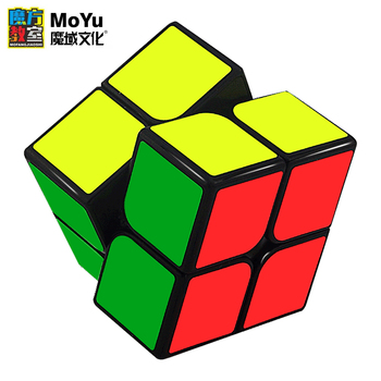 MOYU Cubing Classroom MF2S 2x2x2 Magic Cube Stickerless Pocket Speed Cubes Professional 2x2 Puzzle Cube Educational Toys new moyu cubing classroom meilong pyramid cube 3x3x3 stickerless magic speed cubes professional puzzle cubes education toys