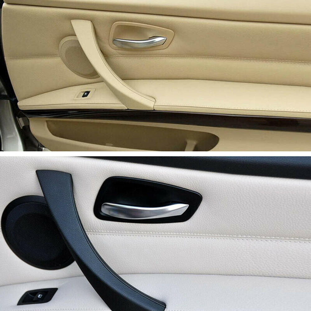 SPEORX RUIYYT Car Auto Interior Door Handle Left / Right Hand Grip Parts For BMW 3 Series E90 image
