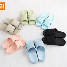Xiaomi One cloud/домашние тапочки для мужчин и женщин; Домашние Банные Тапочки с мягкой подошвой; нескользящая домашняя обувь для купания