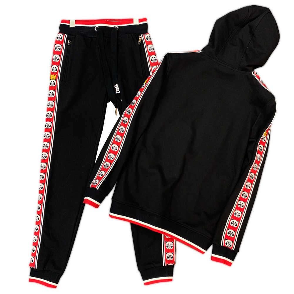 2020 hoodie fermuar ve merserize pamuk materialfor erkek set yüksek kaliteli ürün fransa Eden parkı lüks marka bez