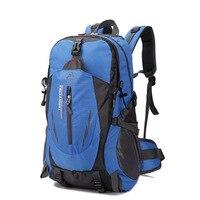 Gran oferta 35L mochila al aire libre Camping escalada impermeable montañismo senderismo mochilas bolsa de deporte Molle escalada mochila