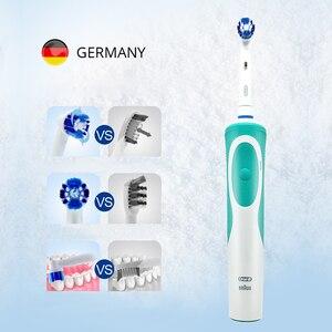 Image 5 - Oral B Vitality D12 звуковая электрическая зубная щетка вращающаяся перезаряжаемая зубная щетка гигиена полости рта зубная щетка