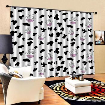 simple curtains Customized size Luxury Blackout 3D Window Curtains For Living Room Decoration curtains