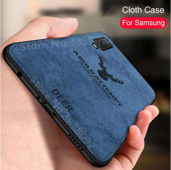 Soft Cloth TPU Samsung Case