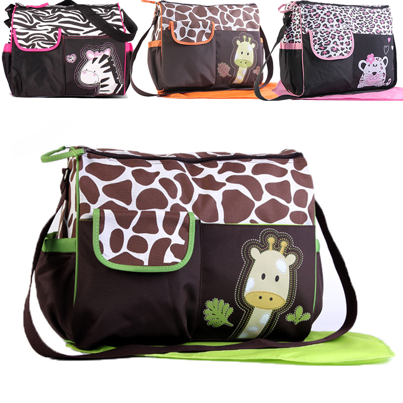 Multifunctional Baby Diaper Bag Baby Care Nappy Bags Print Baby Stroller Bags Mummy Maternity Bag Mom Travel Handbag