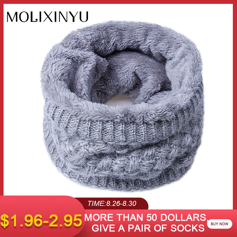 MOLIXINYU Scarf Wool-Collar Children Girls Kids for Baby Warm Winter New-Brand