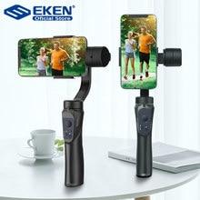 EKEN – H4 stabilisateur portatif à 3 axes, pour téléphone portable, enregistrement vidéo, cardan pour caméra d'action, pour Smartphone