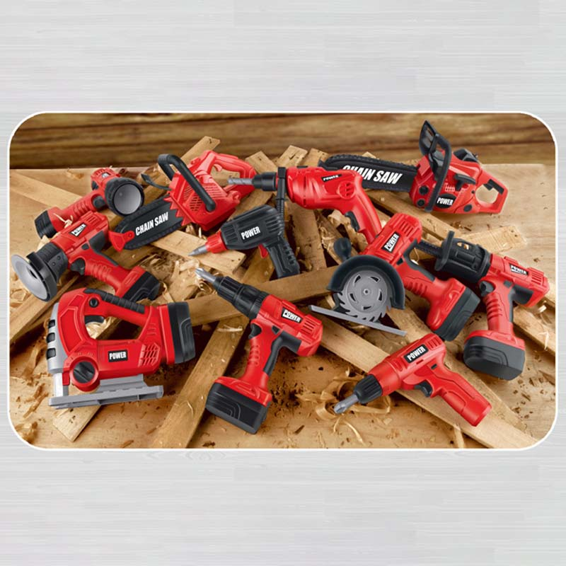 Creative Kids Pretend Play Tool Toys Rotating Chainsaw With Sound Simulation Repair Tool House Play Toys For Boys Children Kids