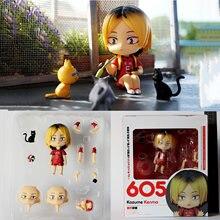Haikyuu!! Kozume Kenma GSC 605 # glina lalka Haikyuu rysunek Nekoma liceum seter Kozume Kenma Q wersja Model kolekcjonerskie zabawki
