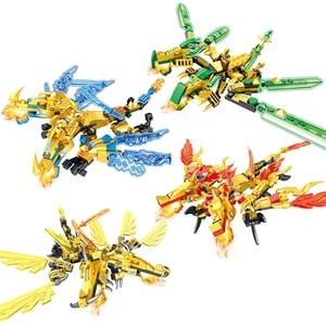 Image 5 - 4IN1ロイドタイタンメカninjagoed ninjagoedと互換性教育ビルディングブロックレンガ男の子子供のおもちゃのギフト