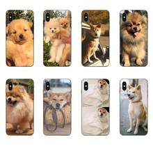 Shibainu Dog TPU Pattern For Galaxy A8 A9 Star Note 4 8 9 10 S3 S4 S5 S6 S7 S8 S9 S10 Edge Lite Plus Pro G313(China)