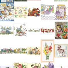 Needlework-Sets Cross-Stitch-Kits Embroidery 18CT 11CT 14CT 5-Counted DIY Top-Selling