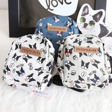 Pet Dog Bag Backpack Outdoor Travel Carrier For Dog Puppy Cat with Chest Rope Harness