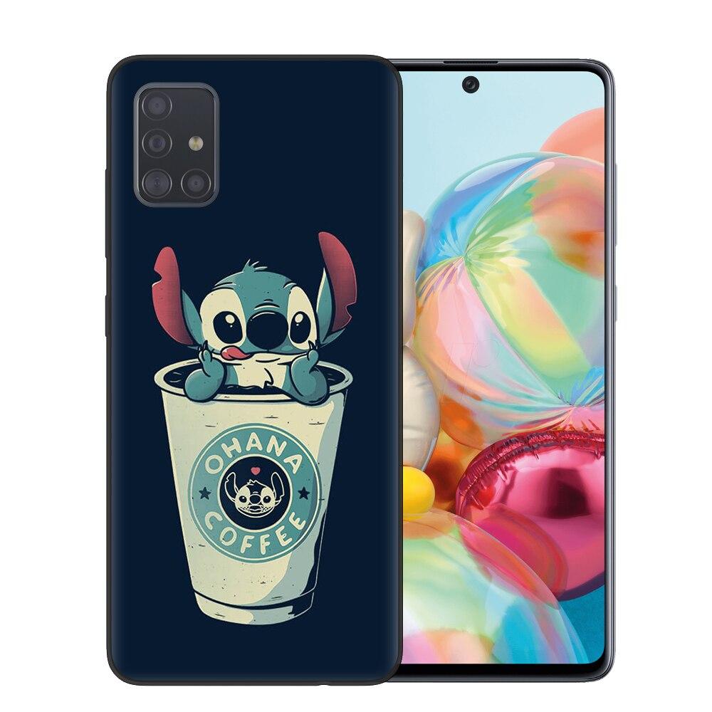 Cute Cartoon Stitch Soft TPU Phone Case For Samsung Galaxy A10 A20 A30 A40 A50 A70 A51 A71 S20 Ultra Plus Cover Coque Capa Funda