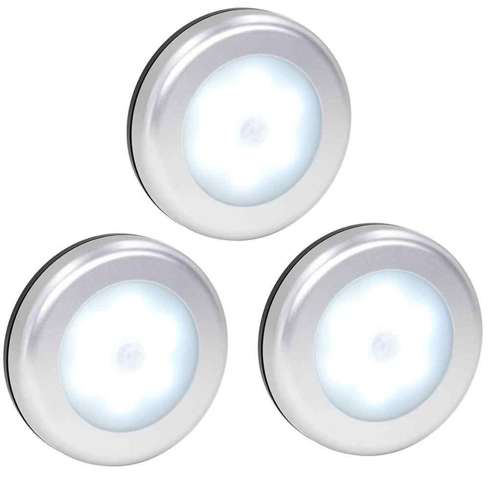 Новый 6 светодиодов инфракрасный PIR датчик движения под шкаф светильник беспроводной детектор настенный светильник Авто Вкл/Выкл шкаф кухня спальня светильник ing