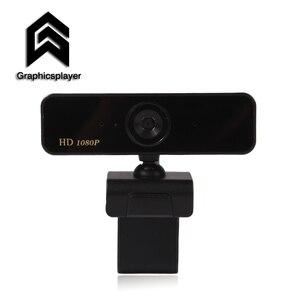 Automatyczna ostrość kamera internetowa 1080P kamera HDWeb mikrofon wtyczka USB