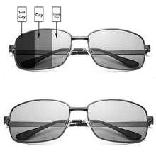 Черный рамка цвета изменяя фильм портативный день и ночь глаз изменение цвета солнцезащитные очки