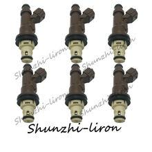 6 шт форсунка топливного инжектора для toyota 4runner tacoma