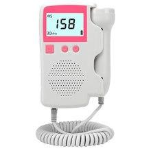 Com caixa vip link doppler fetal monitor de freqüência cardíaca