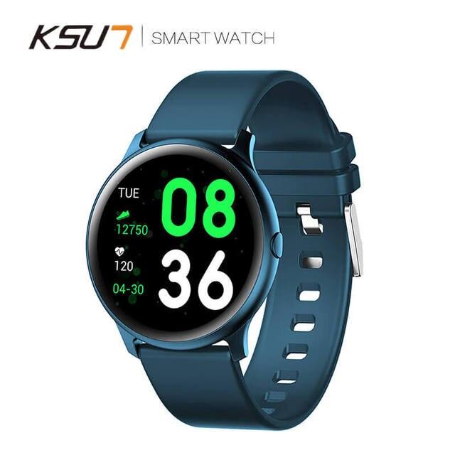 KSUN KSR908 ماجيك النساء معدل ضربات القلب الدم الأكسجين الرياضة بلوتوث الرجال جهاز تعقب للياقة البدنية Smartwatch IP68 السعر المنخفض سوار ساعة ذكية