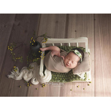 купить Newborn Photography Prop Bed Vintage Sofa Basket Newborn Photo Shoot Posing Chair Baby Studio Props Baby Photo Shoot Accessories в интернет-магазине