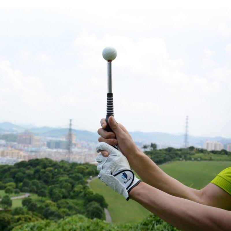 Clubs de Golf Golf Télescopique Tige Pivotante D'échauffement Bâton de Golf Pratique Formation Swing Trainer Pour Tempo Force de Préhension