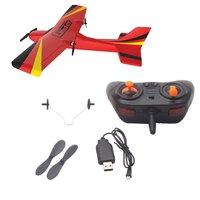 Z50 2.4g 2ch 350mm micro wingspan controle remoto rc avião planador asa fixa epp zangão com giroscópio rtf brinquedos para crianças