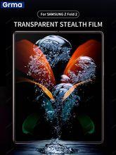 Grma HD كامل الشاشة غطاء حامي لسامسونج غالاكسي Z أضعاف 2 5G هيدروجيل فيلم لينة لوسنت مكافحة بصمات الأصابع لا الزجاج