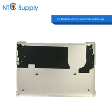 NTC Supply For MacBook Pro 13.3 inch A1502 2013-2015 Year Bottom case Silver 100% Tested Good Function