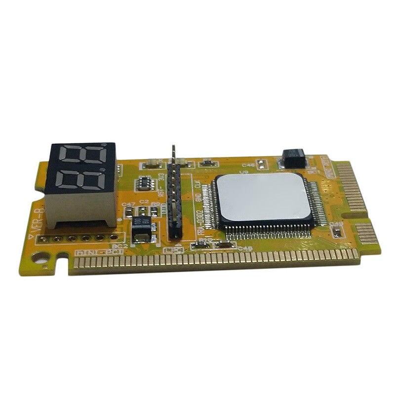 2-Digit Portable Computer PC Mini PCI PCI-E LPC Laptop Analyzer Tester Mother Board Debug Checker Diagnostic Card 6