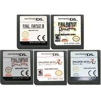 DS משחק מחסנית קונסולת כרטיס סופי Fantasiy סדרת אנגלית שפה עבור Nintendo DS 3DS 2DS