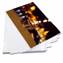 100 Sheets 4r 10x15cm High-Quality Inkjet Glossy 230g 260g Waterproof Glossy Photographic Photo Paper