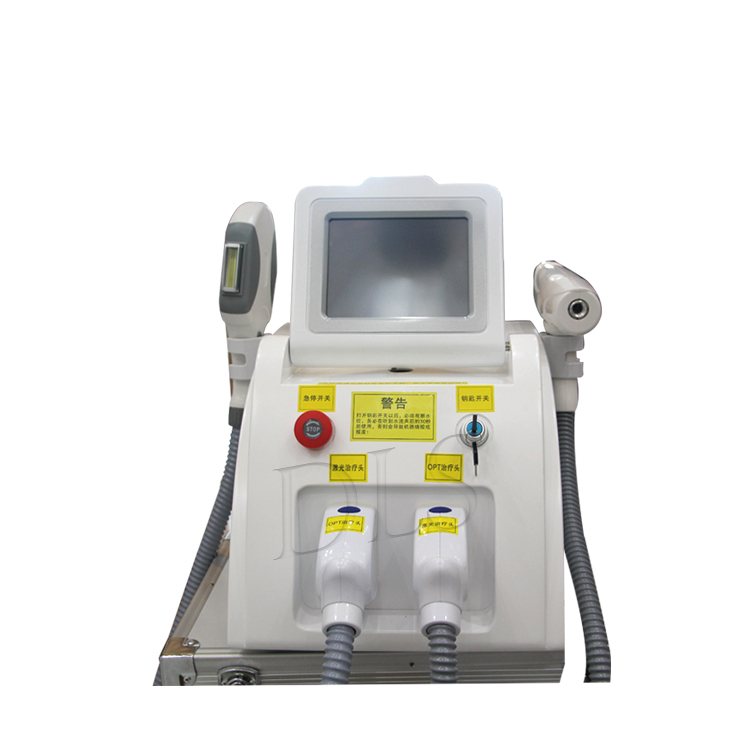 Hot Sale Removal Of Eyebrow Line Pigment Painless Hair Removal Laser Facial Lifting Multifunction Beauty Equipment 2 Handles