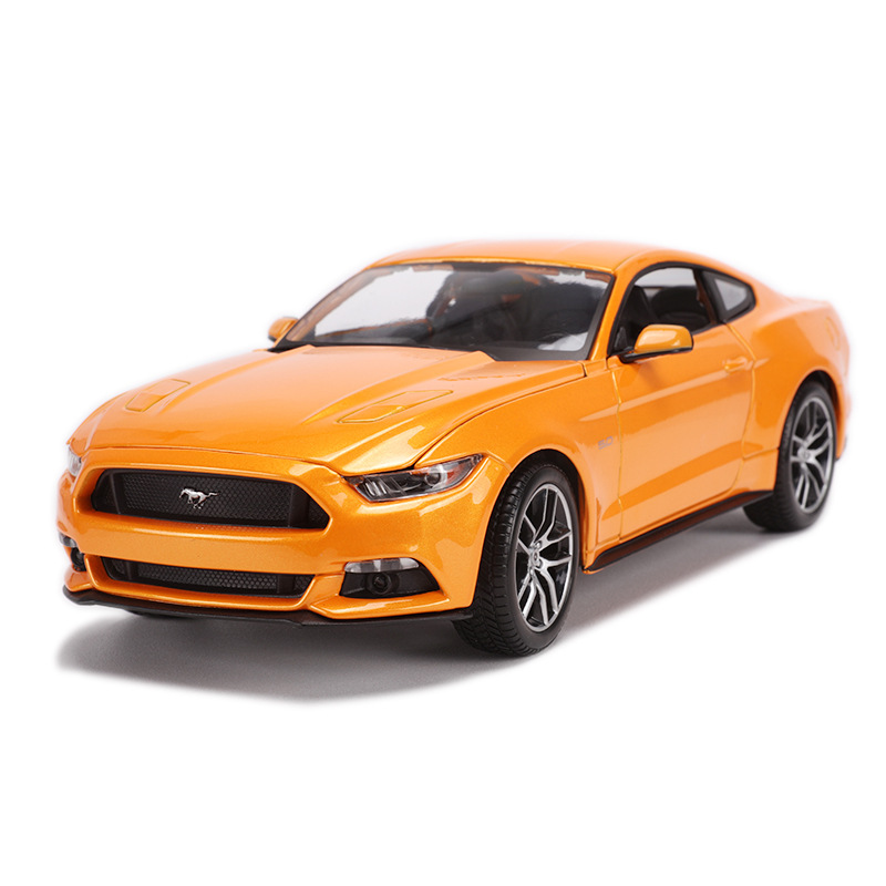 Maisto 1: 18 Alloy Car Model Ford Mustang Car Model Muscle Car Coaster Model Original Factory