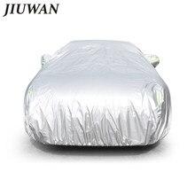 JIUWAN Universal SUV Auto Abdeckungen Sonne Staub UV Schutz Outdoor Auto Volle covers Regenschirm Silber Reflektierende Streifen Für SUV Limousine