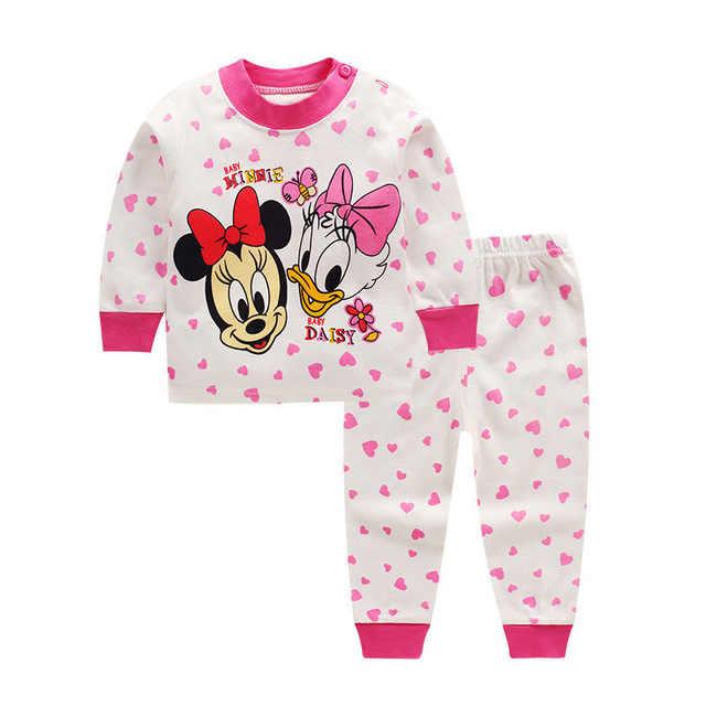 Baby Kleidung Baumwolle Jungen und Mädchen Baby Unterwäsche Set kinder Herbst Kleidung Lange Hosen Hause kinder neugeborenen kleidung