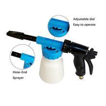 Car Washer High Pressure Foamer Water Gun 900ml Foamaster Soap Gun Cleaning Water Car Sprayer Foam Shampoo Gun Washing A1R8