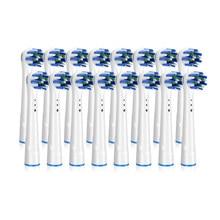 Cabeças de escova de substituição para oral-b escova de dentes elétrica avanço power/vitalidade precisão limpa/pro recargas de saúde