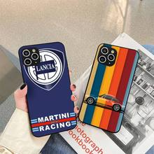 Martini Racing Phone Case For iphone 5s 6 7 8 11 12 plus xsmax xr pro mini se Cover Fundas Coque