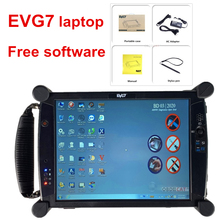 EVG7 Voor Icom A2 Met Software Geïnstalleerd Goed EVG7 DL46 Tablet Pc 8Gb Ram Laptop 500Gb Hdd Auto diagnostische Super Ista Expert Mode