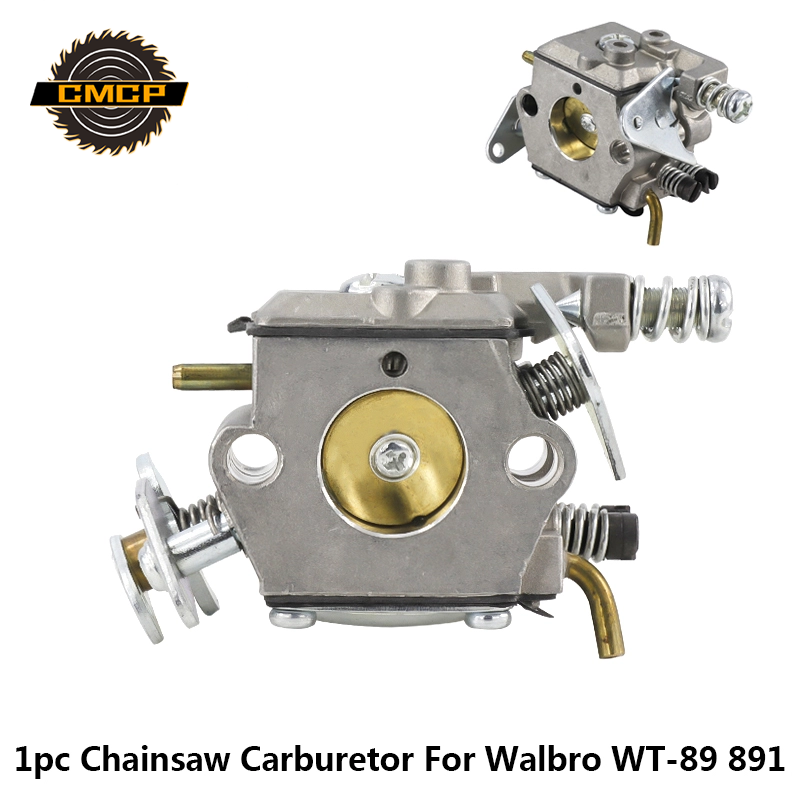 CMCP New Chainsaw Carburetor Carb Fit For Walbro WT-89 891 Walbro Trimmer Carburetor Chainsaw Parts