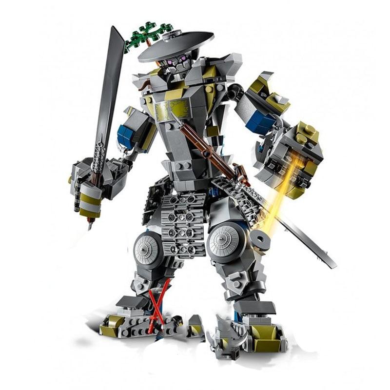 New Ninjagoes Titans Samurai The Oni Titan Set Compatible With legoingery Building Blocks Bricks Toys Children Gifts